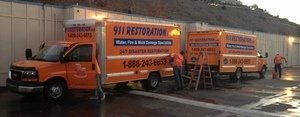 water-damage-restoration-vans-and-trucks-ready-at-headquareters