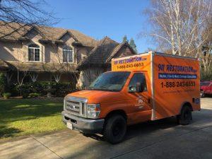 Commercial Property Damage Remediation Van